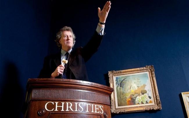 Christie's нацелился на китай